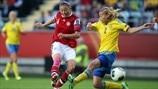 Sweden 1-1 Denmark: the story in photos