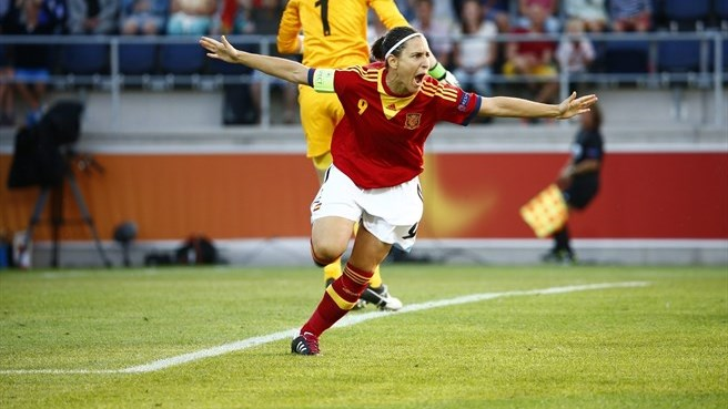 Verónica Boquete's first goal for Spain
