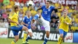 Sweden 3-1 Italy: the story in photos