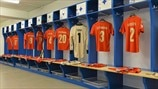 Russia dressing room