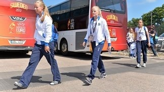 Behind the scenes: Sweden v Iceland