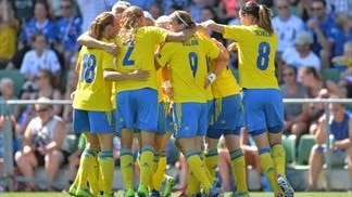 Sweden 4-0 Iceland: the story in photos