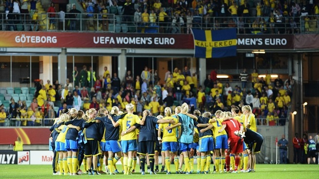 Sweden's heartbreak after 'magical summer'