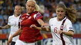 Norway 1-1 Denmark: the story in photos