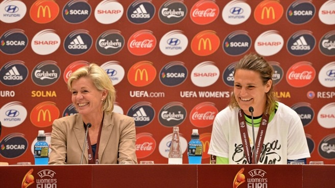 Silvia Neid & Nadine Angerer (Germany)