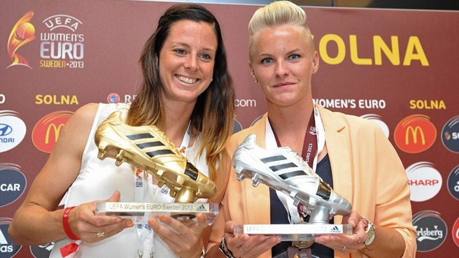 Sweden's Schelin wins Golden Boot