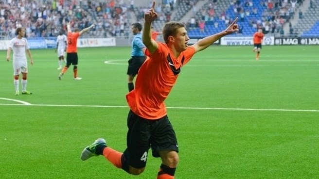Shakhter on top after Skënderbeu success