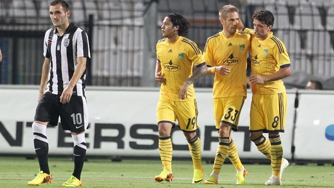 Dević does the damage as Metalist beat PAOK