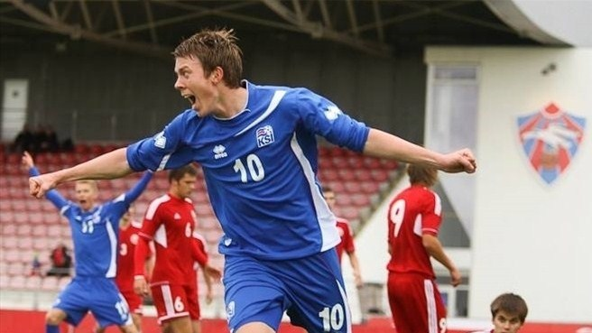 Atlason hat-trick helps Iceland past Belarus