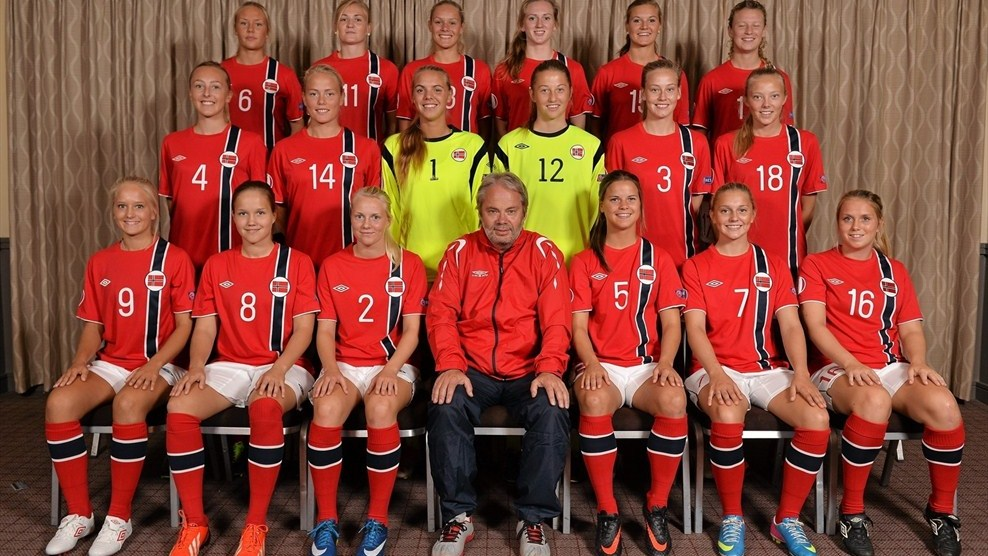Norway Squad Portraits - UEFA European Women's Under-19 Championship