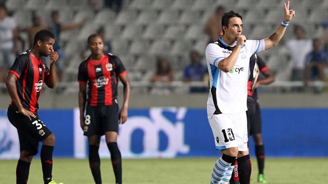 Merkis rallies Apollon after two-goal defeat of Nice