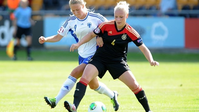 Germany defenders continue forward momentum