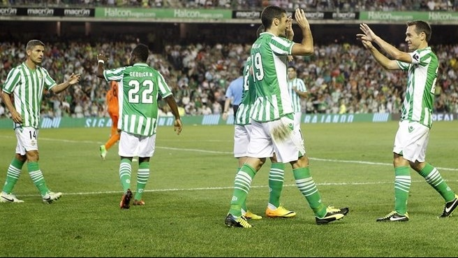 Málaga and Betis earn first victories