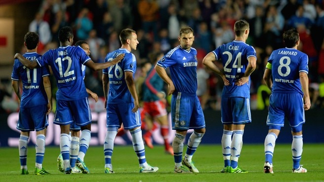 Chelsea FC dejection