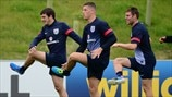 Leighton Baines, Ross Barkley & James Milner (England)
