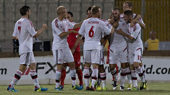 Denmark back on track with Malta success