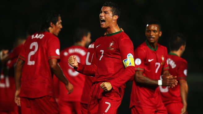 Ronaldo hits three as Portugal prevail in Northern Ireland