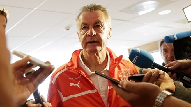 Hitzfeld to retire as Swiss coach in 2014