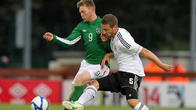 Shkodran Mustafi (Germany) & Aiden O'Brien (Republic of Ireland)