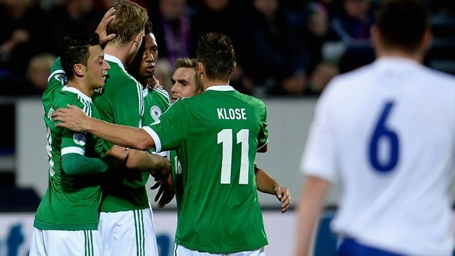 Germany close in on Brazil with Faroe Islands win