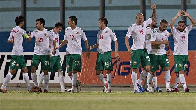 Bulgaria bounce back by beating Malta