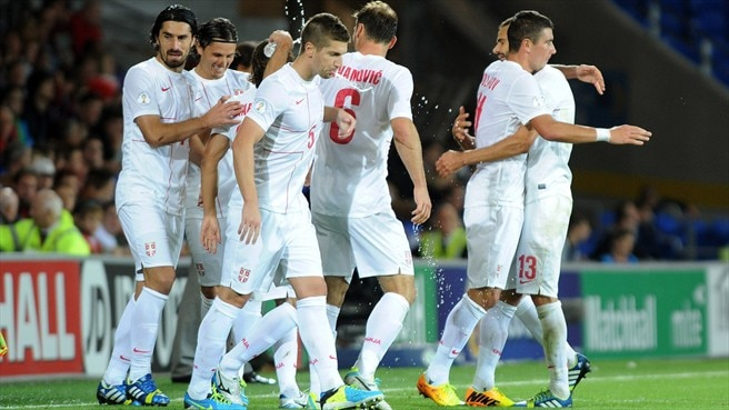 Classy Serbia inflict third straight loss on Wales