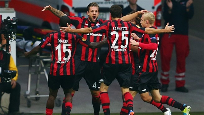 Eintracht return with a bang against Bordeaux