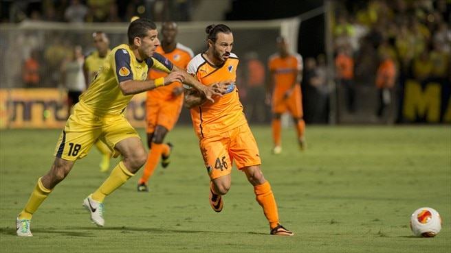 Maccabi Tel-Aviv pay penalty as APOEL share spoils