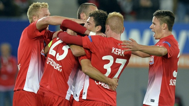 Freiburg throw away victory against Liberec