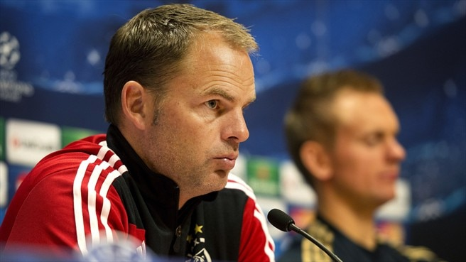 De Boer thinking positive as Milan visit