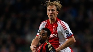 Ajax 1-1 Milan: the story in photos