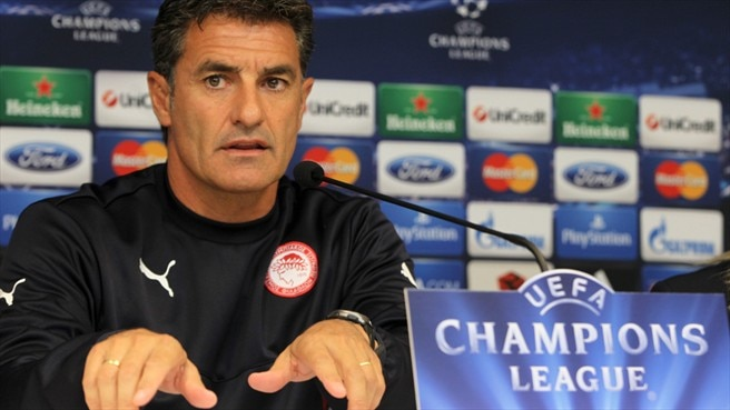 Olympiacos staying grounded for Benfica visit