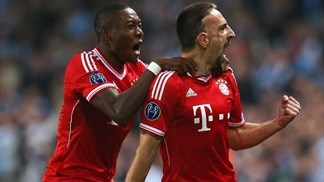 Manchester City 1-3 Bayern: the story in photos