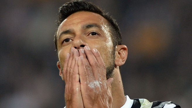 Juventus denied Quagliarella for Madrid trip