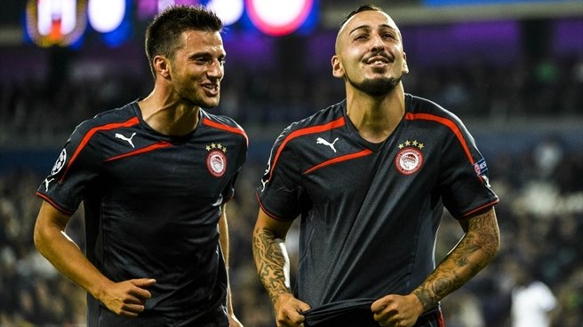 Mitroglou focus reaps reward for Olympiacos