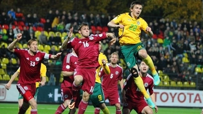 Lithuania down Latvia to claim Baltic derby spoils