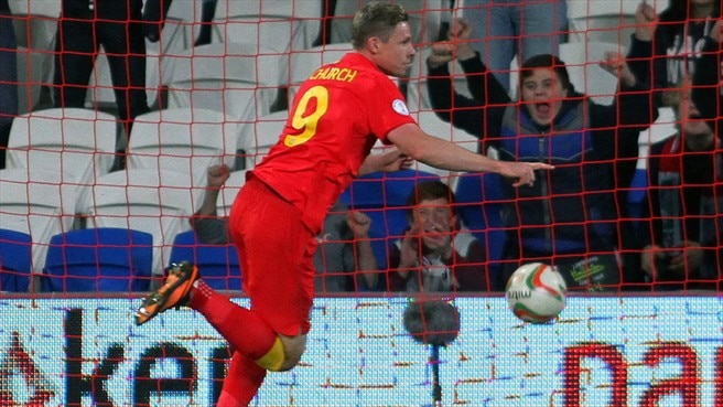 Church redeems Wales as FYROM are seen off