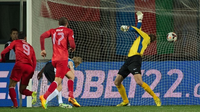 Turkey move second with Estonia victory