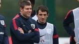 James Milner & Leighton Baines (England)