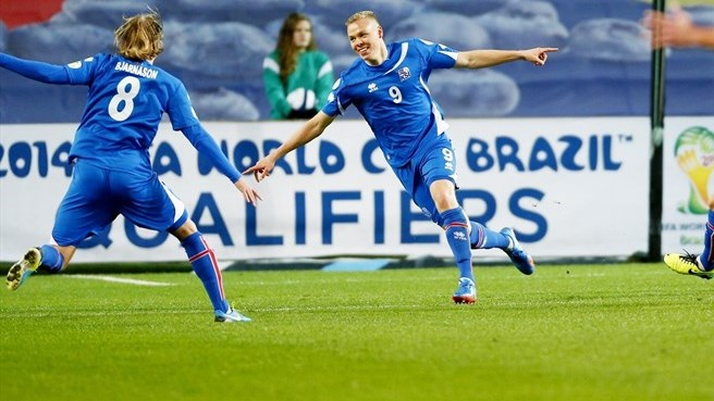 Iceland draw in Norway to clinch play-off berth