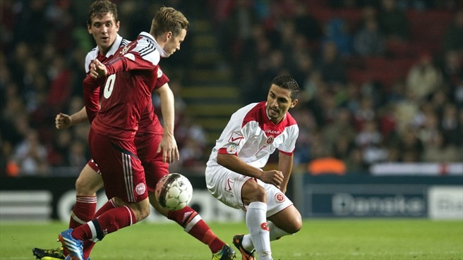 Young Denmark put six past Malta