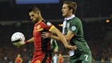 Kevin Mirallas (Belgium) & Andy King (Wales)