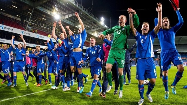 Iceland's joy at play-off prospect