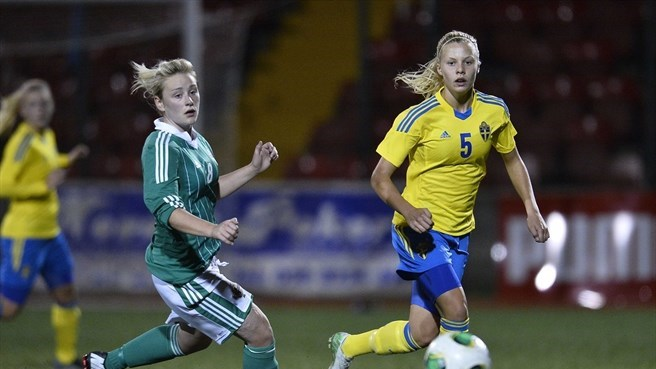 Amy Burden (Northern Ireland) & Lotta Ökvist (Sweden)