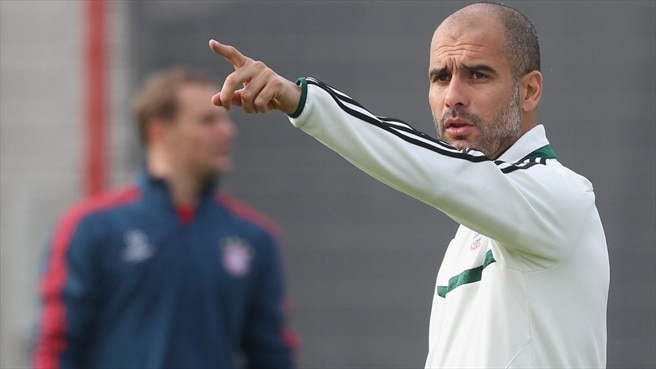 Guardiola tells Bayern to press Plzeň