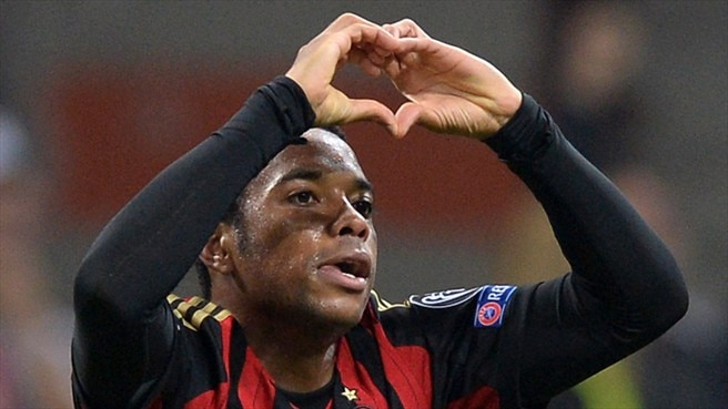 Milan robbed of Robinho and Abate