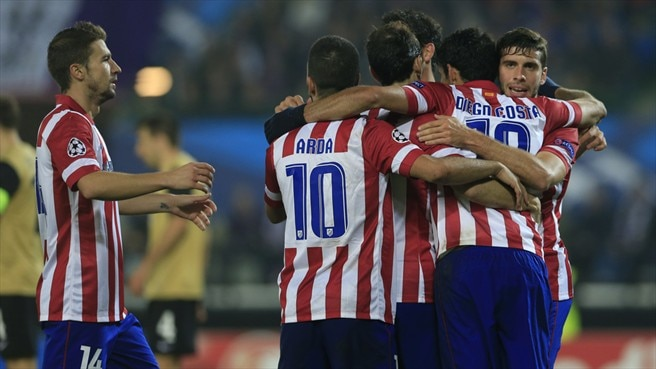Atlético trio stay grounded despite perfect start
