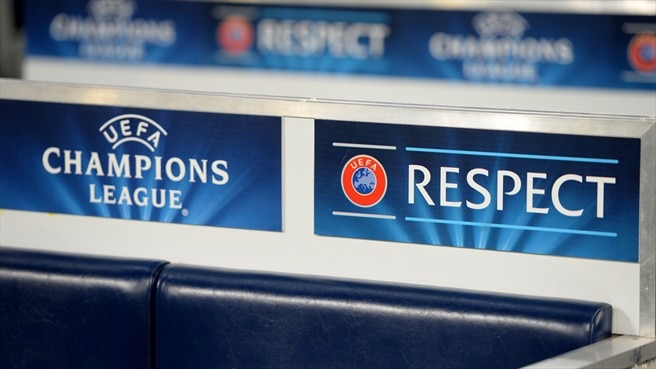 """UEFA Champions League """"Respect. No to Racism"""" campaign"""