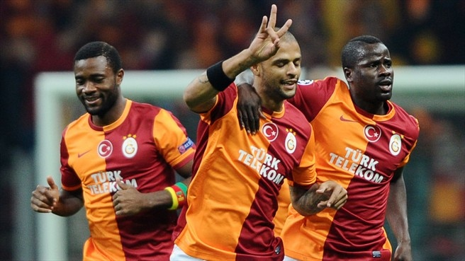 Galatasaray united in joy