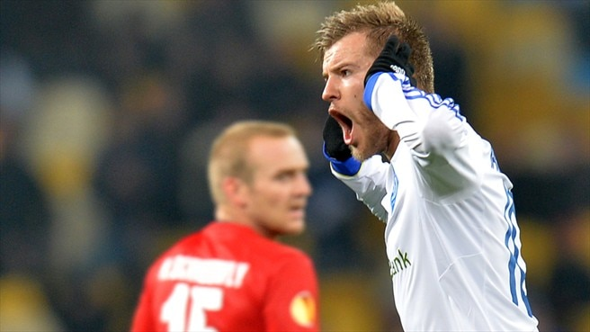 Ten-man Dynamo Kyiv stun sorry Thun